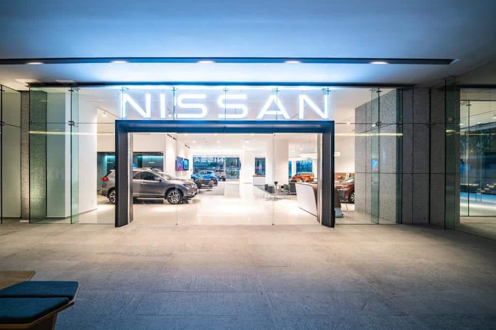 Así será el nuevo showroom de Nissan en CDMX