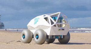 Beach Bot: robot autónomo que libra a las playas de colillas de cigarrillos