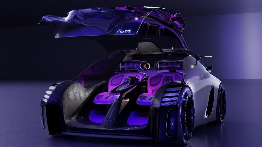 MG Maze Concept