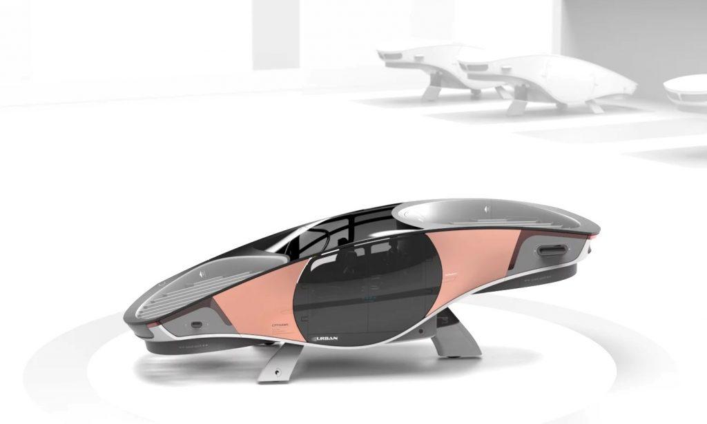 ¡Van en serio! El primer auto volador eVTOL sin alas está casi listo
