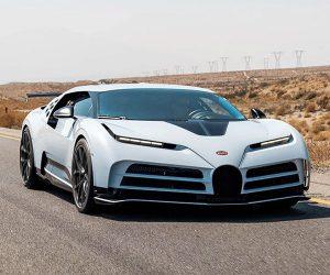 ¡Probado a 45 grados! El Bugatti Centodieci es 'calado' en el desierto de Arizona